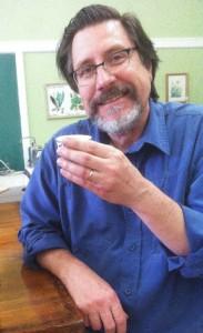 Dr. Glen Nagel, tea aficionado.